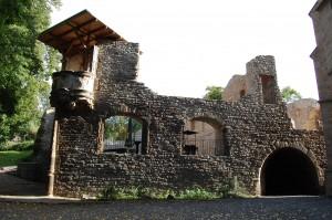 Ruine im Schlossgelände