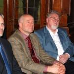 Rainer Saurbier, Frank Ranneberg, Thomas Wäsche (v.r.)