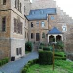 Schlossgarten vor dem Trauzimmer