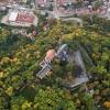 Schloss Mansfeld - Luftbild