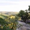 Blick über Minenbastion ins Tal