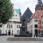 Lutherstadt Eisleben | Marktplatz mit Denkmal